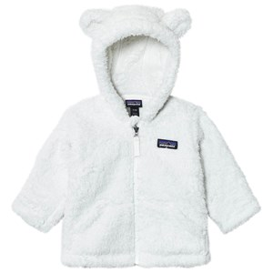 Image of Patagonia Baby Furry Friends Hoodie Sweater Birch White 12 mdr (3125332523)