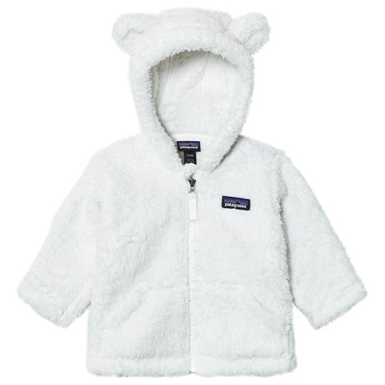 Patagonia Baby Furry Friends Hoodie Sweater Birch White Birch White