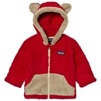 Patagonia Baby Furry Friends Hoodie Sweater Classic Red Classic Red