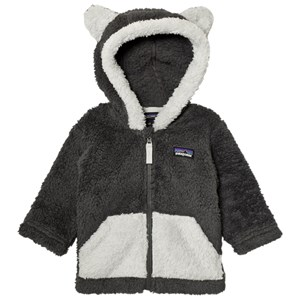 Image of Patagonia Baby Furry Friends Hoodie Sweater Forge Grey 18 mdr (3125332535)