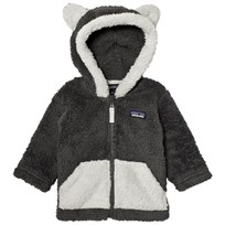 Patagonia Baby Furry Friends Hoodie Sweater Forge Grey Forge Grey
