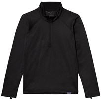 Patagonia Boys´ Cap Heavyweight Zip Neck Black Black