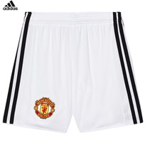 Manchester United Man United ´17 Junior Home Shorts White/Black