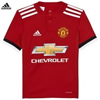 Manchester United Man United ´17 Junior Home Shirt REAL RED S10/WHITE/BLACK