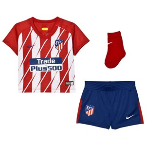 Image of Atletico Madrid Atletico Madrid Infant's Home Kit 18-24 months (2743710451)