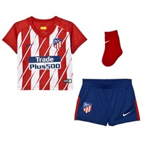 Atletico Madrid Atletico Madrid Infant's Home Kit SPORT RED/WHITE/DEEP ROYAL BLUE
