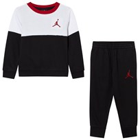 Air Jordan Black Wing IT French Terry Crew Set 023
