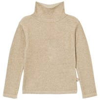 Billieblush Gold Lurex Turtle Neck Jumper N81