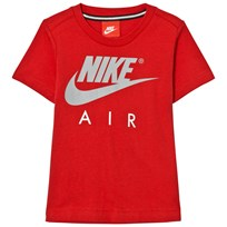 NIKE Red Carbon Heather Nike Air Tee U10