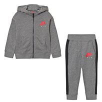 NIKE Grey Nike Air Fleece Tracksuit GEH