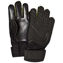 NIKE Junior Match Goalkeeper Soccer Gloves BLACK/BLACK/BLACK