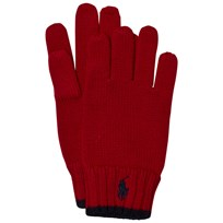 Ralph Lauren Red Merino Gloves 003