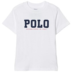 Ralph Lauren Slub Cotton Jersey Tee White