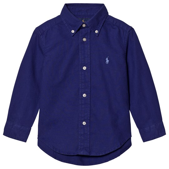 Ralph Lauren Button-Down Shirt Royal American 002