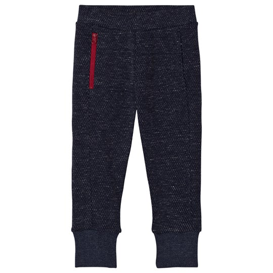 IKKS Charcoal Textured Zip Slim Sweat Pants 48