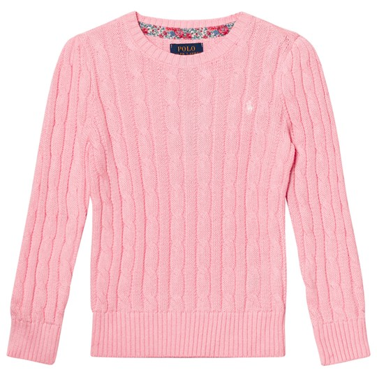Ralph Lauren Classic Cable Knit Sweater Pink 004