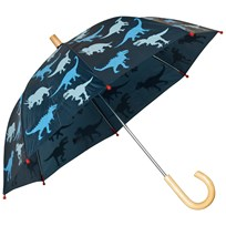 Hatley Navy Dinosaur Print Umbrella Navy