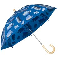Hatley Blue Mammoth Print Umbrella Blue