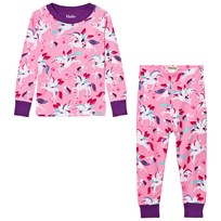 Hatley Pink Unicorn All Over Print Pyjamas Pink