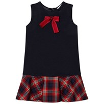 Dolce & Gabbana Navy/Red Tartan Dress S9000