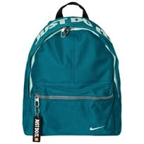 NIKE Green Classic Backpack BLUSTERY/BLACK/MINT FOAM