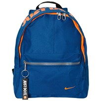 NIKE Blue Classic Backpack BLUE JAY/BLACK/TOTAL ORANGE