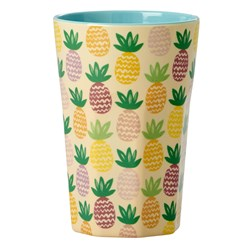 Rice Tall Melamine Latte Cup Pineapple