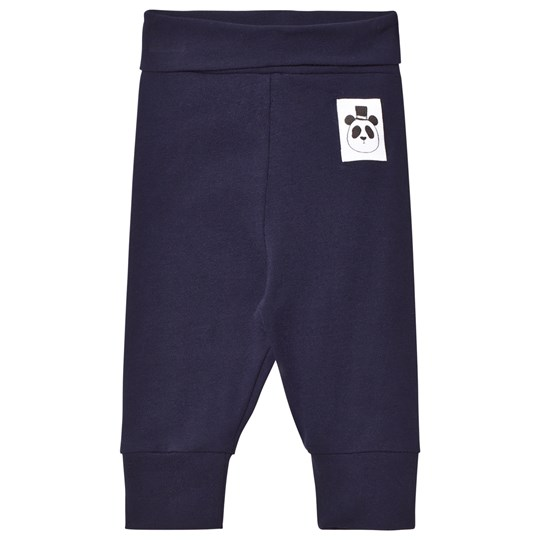 Mini Rodini Basic Leggings Marinblå Blue