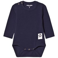 Mini Rodini Basic Baby Body Marinblå Blue