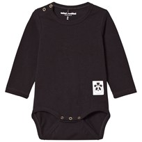Mini Rodini Basic Baby Body Svart Black