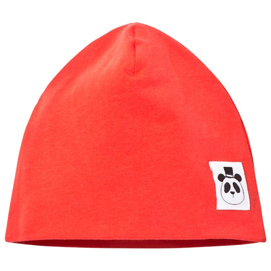 Mini Rodini Basic Beanie Red Red
