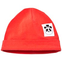 Mini Rodini Basic Baby Beanie Red Red