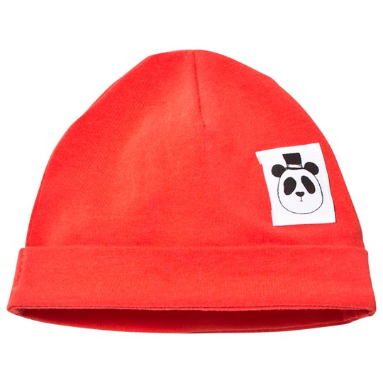 Mini Rodini Basic Baby Beanie Red Rød