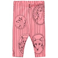 Mini Rodini Fox Family Leggings Rosa Pink