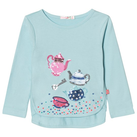 Billieblush Blue Sequin Tea Party Tee 797