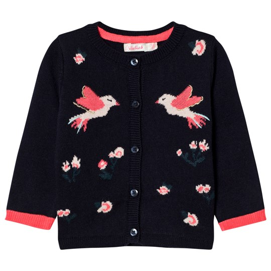 Billieblush Navy Bird Cardigan 849