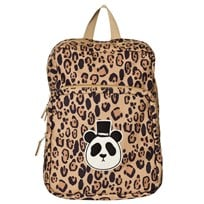 Mini Rodini Panda Backpack Beige Beige