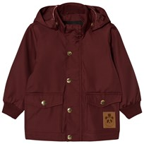 Mini Rodini Pico Jacka Burgundy Red