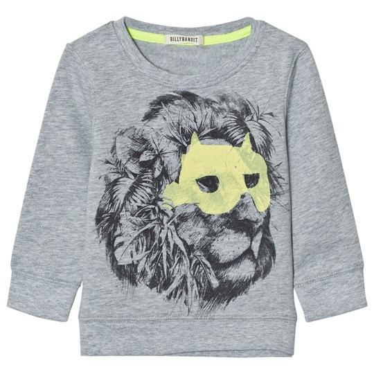 Billybandit Grey Lion Print Sweatshirt A06