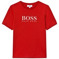 BOSS Classic Branded T-shirt Röd 971