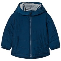 BOSS Blue Padded Puffer Coat 804