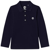 Timberland Navy Branded Polo 85T