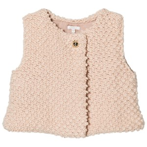 Image of Chloé Pink Textured Knitted Vest 18 months (2743805999)
