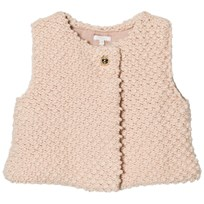 Chloé Pink Textured Knitted Vest 456