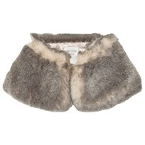 Carrément Beau Grey Faux Fur Collar M54