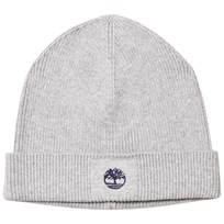 Timberland Grey Knit Branded Beanie A32