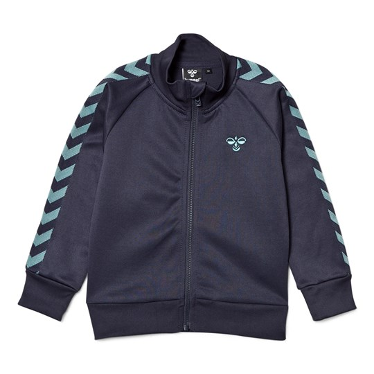 Hummel Lukas Zip Jacka Blue Nights Blue Nights