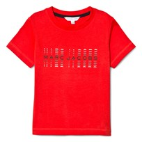 Little Marc Jacobs Red Branded Tee 997