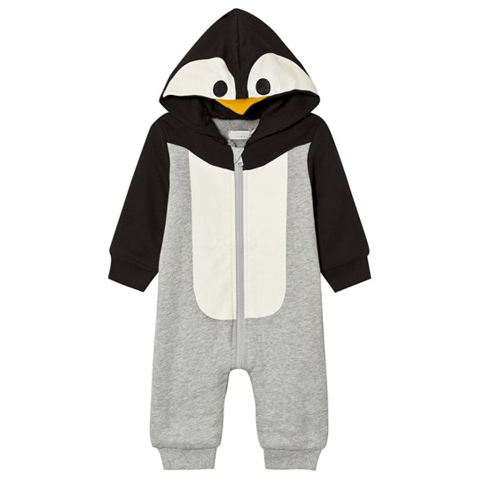 Stella McCartney Kids Penguin Hooded Onesie 1461