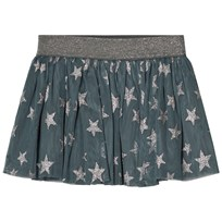 Stella McCartney Kids Blue Stars Print Hone Skirt 3065